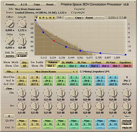 Voxengo Pristine Space VST 1.6 Screenshot