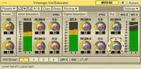 Voxengo VariSaturator 1.0 Screenshot