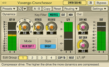 Voxengo Crunchessor 2.0 Screenshot