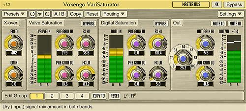 Voxengo VariSaturator 1.3 Screenshot