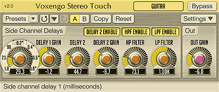 Voxengo Stereo Touch 2.0 Screenshot