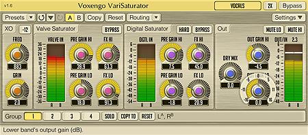 Voxengo VariSaturator 1.6 Screenshot