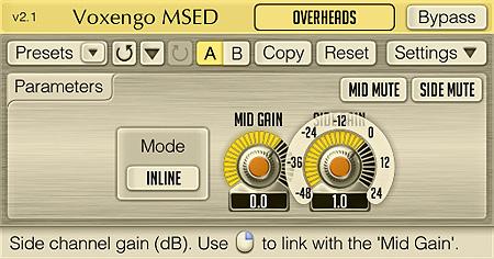 Voxengo MSED 2.1 Screenshot