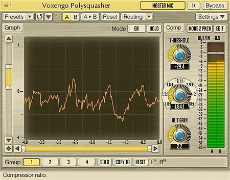 Voxengo Polysquasher 2.1 Screenshot