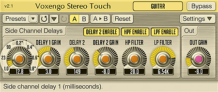 Voxengo Stereo Touch 2.1 Screenshot
