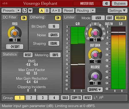 Voxengo Elephant 3.6 Screenshot