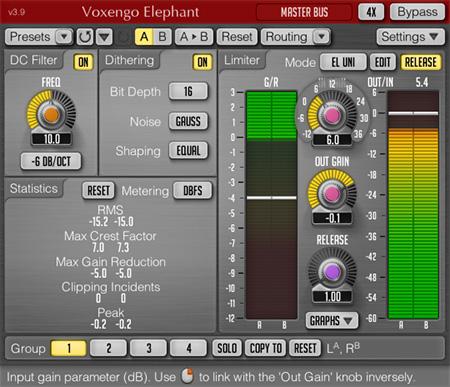 Voxengo Elephant 3.9 Screenshot