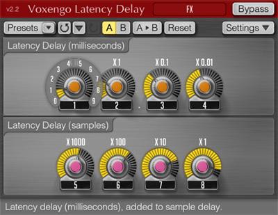 Voxengo Latency Delay 2.2 Screenshot