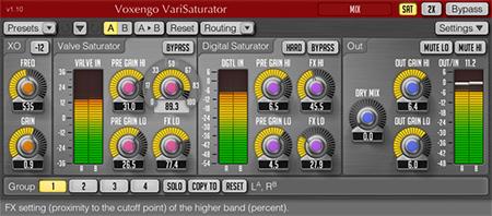 Voxengo VariSaturator 1.10 Screenshot