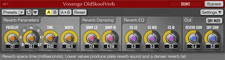 Voxengo OldSkoolVerb 2.1 Screenshot