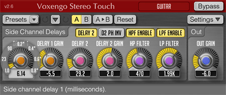 Voxengo Stereo Touch 2.6 Screenshot