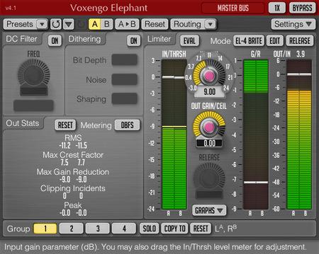 Voxengo Elephant 4.1 Screenshot