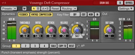 Voxengo Deft Compressor 1.5 Screenshot