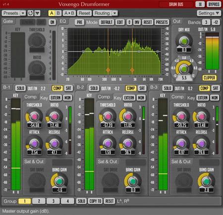 Voxengo Drumformer 1.4 Screenshot