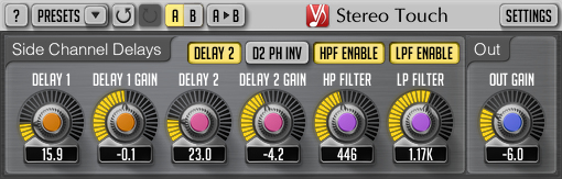 Voxengo Stereo Touch 2.7 Screenshot