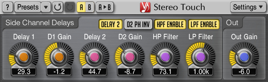 Voxengo Stereo Touch 2.8 Screenshot