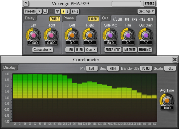 Voxengo PHA-979 2.5 Screenshot