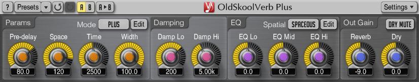 Voxengo OldSkoolVerb Plus 1.0 Screenshot