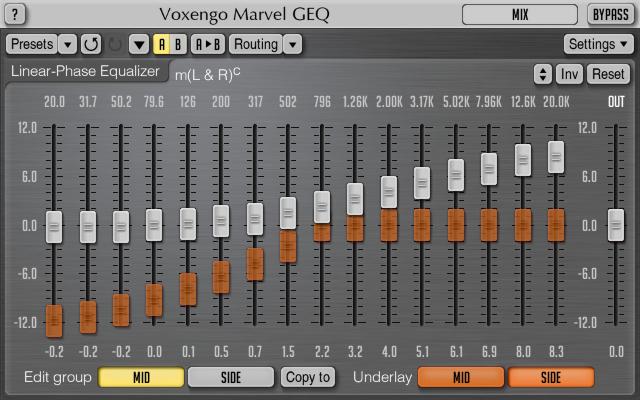 Voxengo Marvel GEQ 1.4 Screenshot