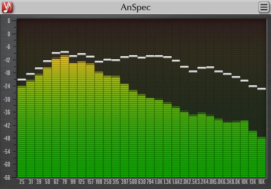 Voxengo AnSpec 1.4 Screenshot