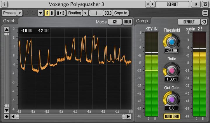 Voxengo Polysquasher 3.0 Screenshot