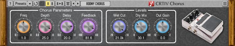 Voxengo CRTIV Chorus 1.0 Screenshot