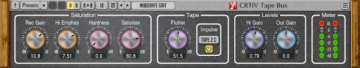 Voxengo CRTIV Tape Bus 1.1 Screenshot