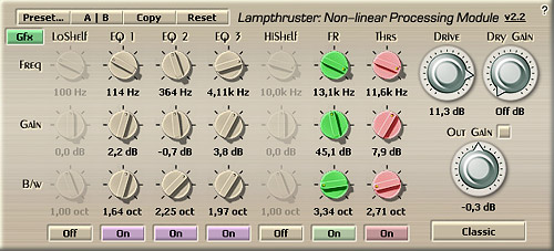 Voxengo Lampthruster VST 2.2 Screenshot