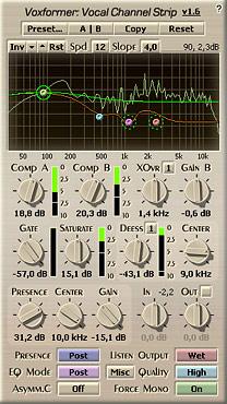 Voxengo Voxformer VST 1.6 Screenshot