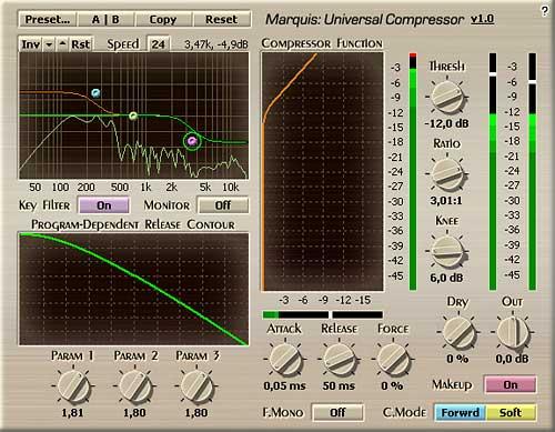 Voxengo Marquis Compressor VST 1.0 Screenshot