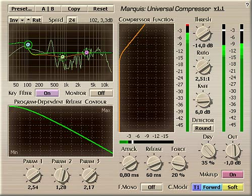 Voxengo Marquis Compressor VST 1.1 Screenshot