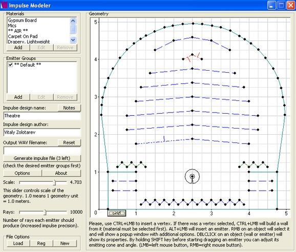 Voxengo Impulse Modeler Screenshot