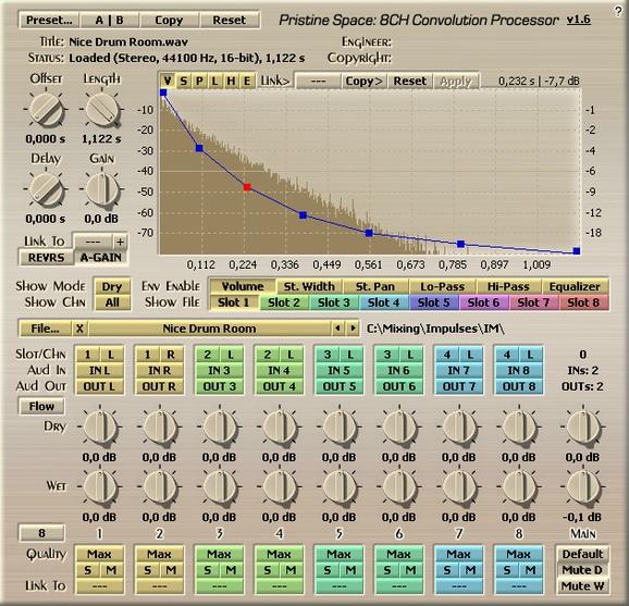Voxengo Pristine Space Screenshot