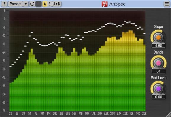 Voxengo AnSpec Screenshot