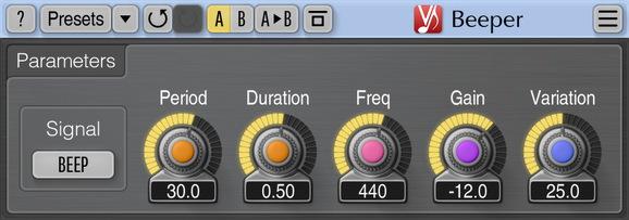 Voxengo Beeper Screenshot