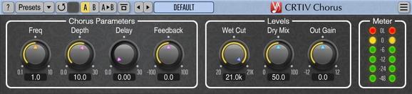 Voxengo CRTIV Chorus Screenshot