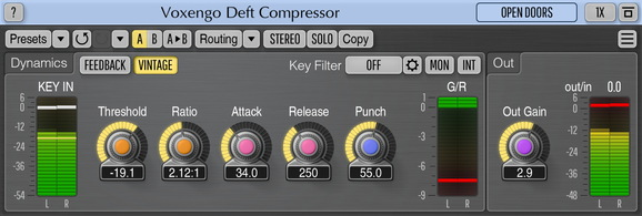 Voxengo Deft Compressor Screenshot