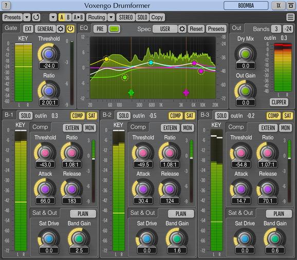 Voxengo Drumformer Screenshot