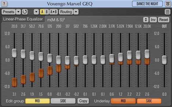 Voxengo Marvel GEQ Screenshot
