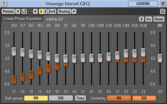 Voxengo Marvel GEQ Screenshot
