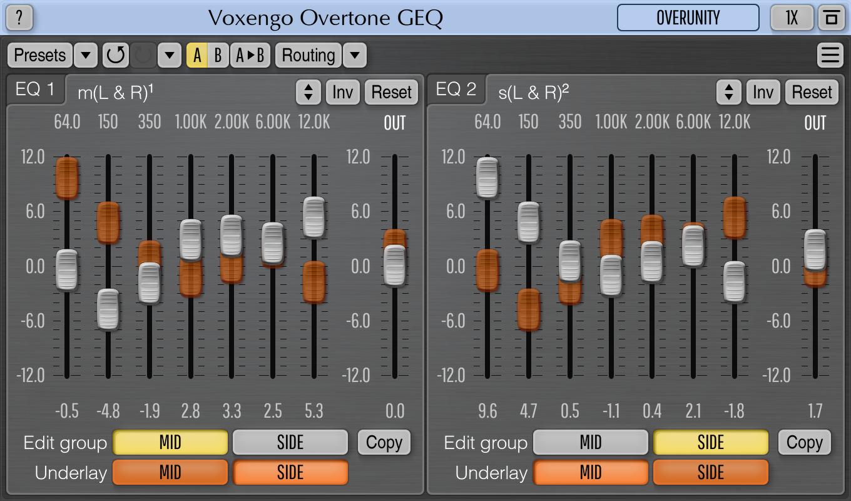 Voxengo Overtone GEQ