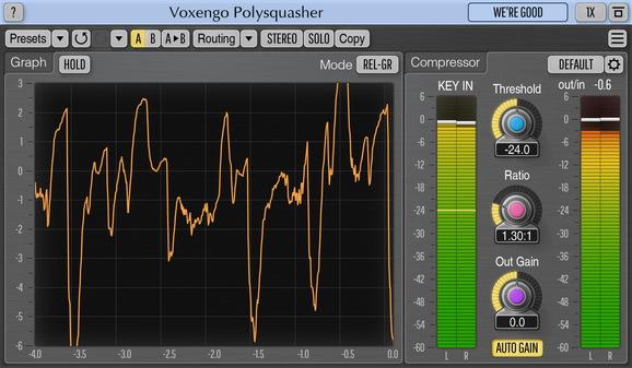 Voxengo Polysquasher 3 Screenshot