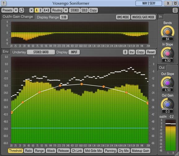 Voxengo Soniformer Screenshot