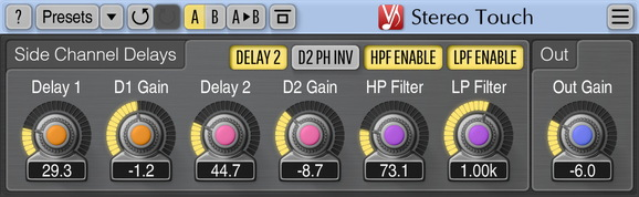 Voxengo Stereo Touch Screenshot