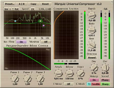 Voxengo Marquis Compressor VST 1.3 Screenshot