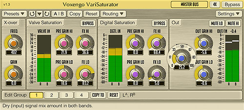 Voxengo VariSaturator 1.3 Screenshot