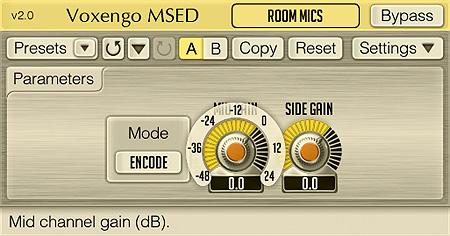 Voxengo MSED 2.0 Screenshot