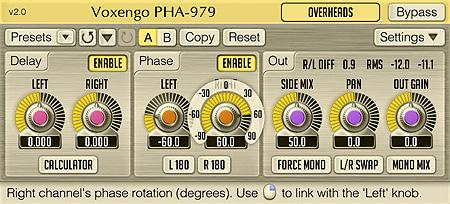 Voxengo PHA-979 2.0 Screenshot