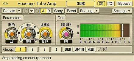 Voxengo Tube Amp 2.0 Screenshot