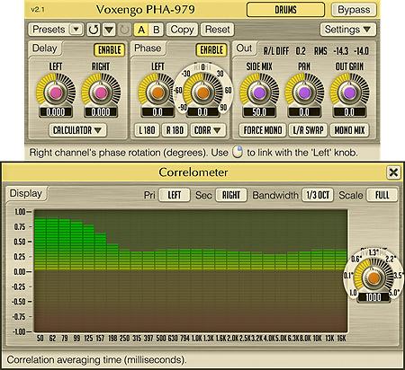 Voxengo PHA-979 2.1 Screenshot